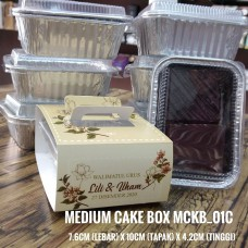 MEDIUM CAKE BOX (Print WARNA) Album 1