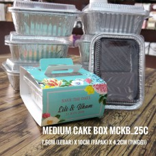 MEDIUM CAKE BOX (Print WARNA) Album 3
