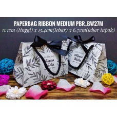 Paperbag RIBBON MEDIUM (BW) Album 3