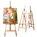 Easel Stand Welcome Board Wood