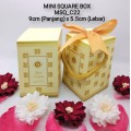 MINI Square Box (WARNA) Album 3