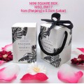 READYMADE MINI Square Box (BW) Album 2