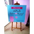 Welcome Board 2x2ft_hnz09
